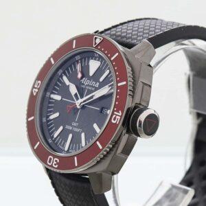 Alpina Seastrong Diver GMT Date Quartz Men's Watch Ref. AL-247LGBRG4TV6