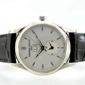 Frederique Constant Clear Vision Big Date Dual Time Automatic Watch FC-325S6B6