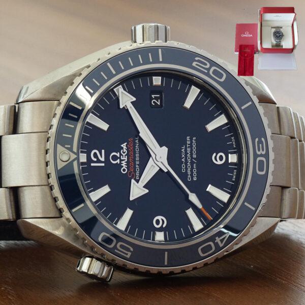 Omega Seamaster Planet Ocean Blue Titanium 232.90.46.21.03.001