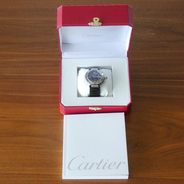 Cartier Pasha Seatimer W31077U2